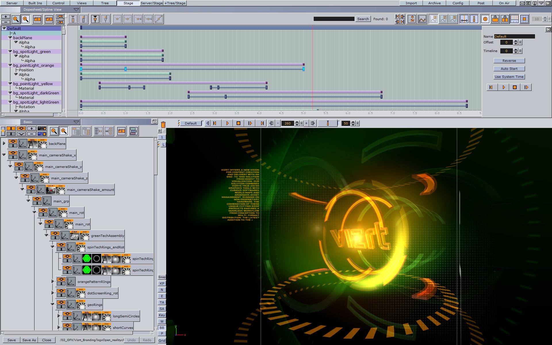 Vizrt Introduces Viz Engine/Artist 3 3 at IBC 2010 | Pipeline