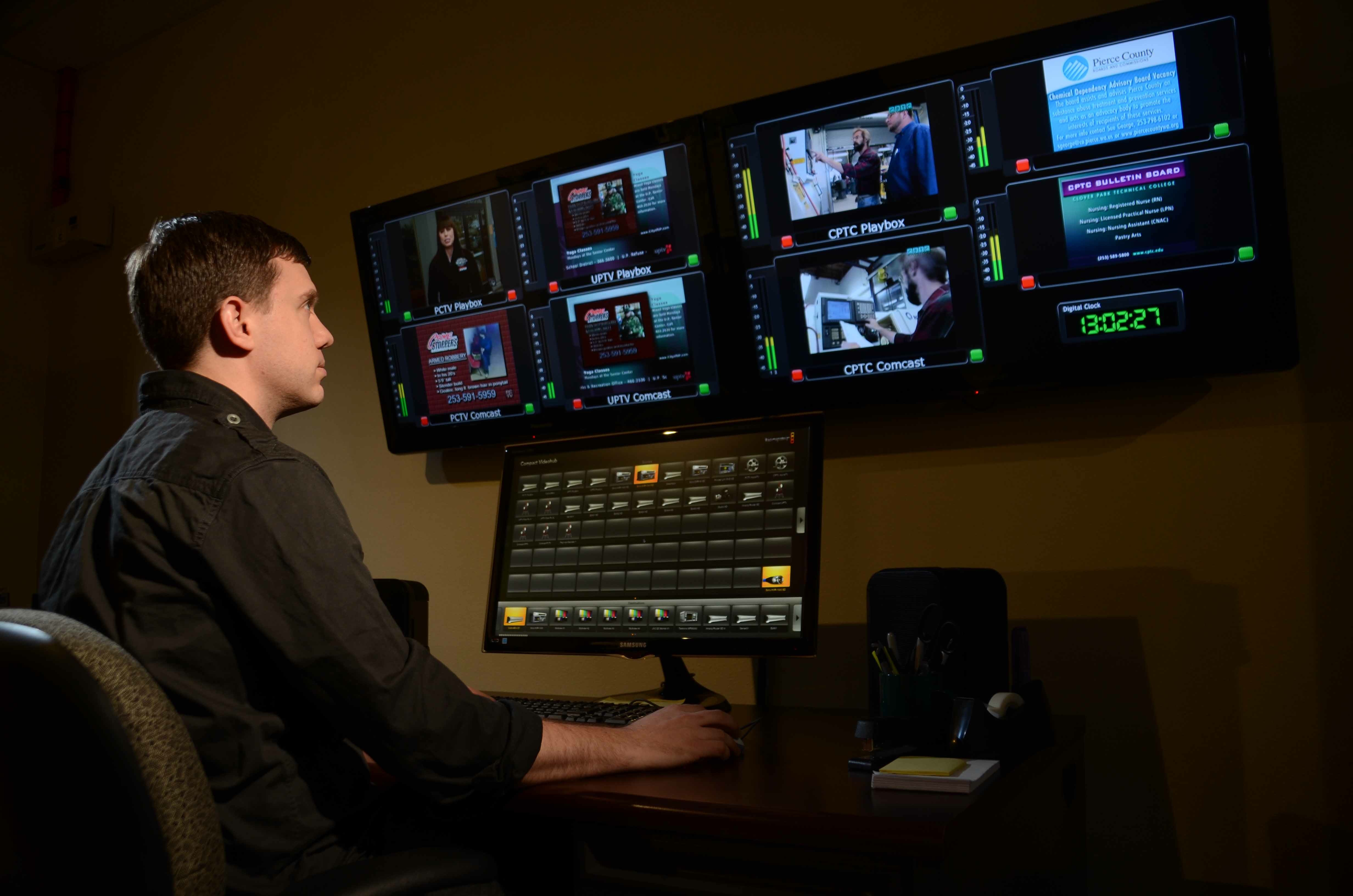 Abs Updates Pierce County Tv Master Control To Support Third Channel