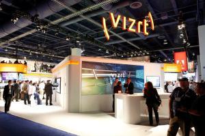 NAB 2013 Vizrt booth front-desk JPG