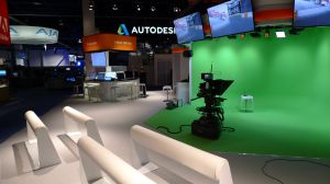 NAB 2013 Vizrt empty-virtual set